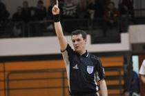 Mednarodni futsal sodnik Gregor Kovačič