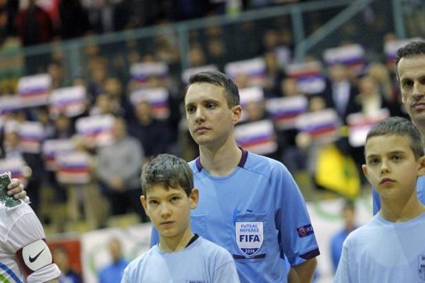 Mednarodni sodnik Admir Zahovic