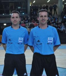 Admir Zahovič in Borut Šivic