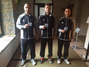 Delegirani sodniki Nikolič, Todorovič in Zahovič
