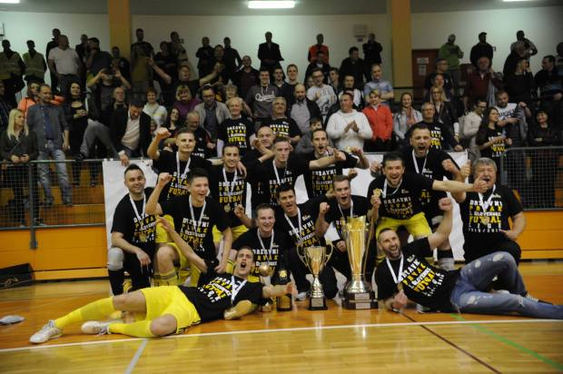 PROEN Maribor državni prvak 1.SFL 2015/16 - Foto: D.P.