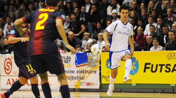 Mile Simeunovic v dresu FC Litija
