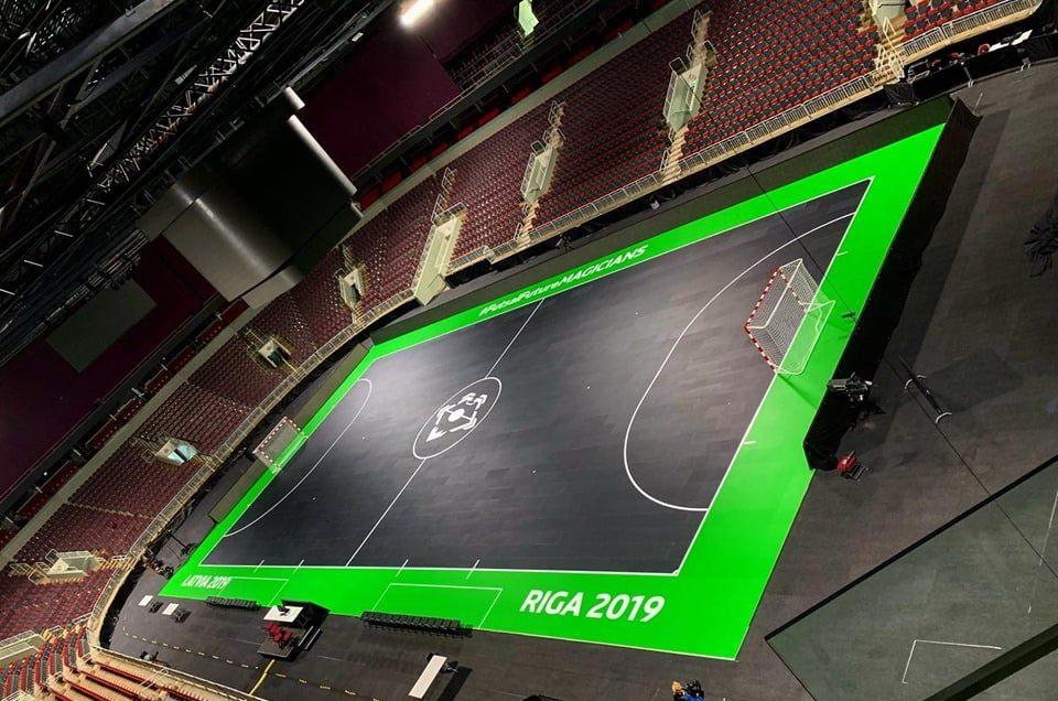 Arena Riga - prizorišče EP U19 2019